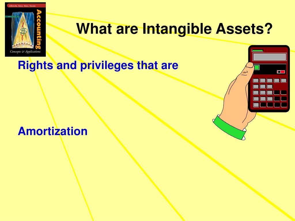What are Intangible Assets?