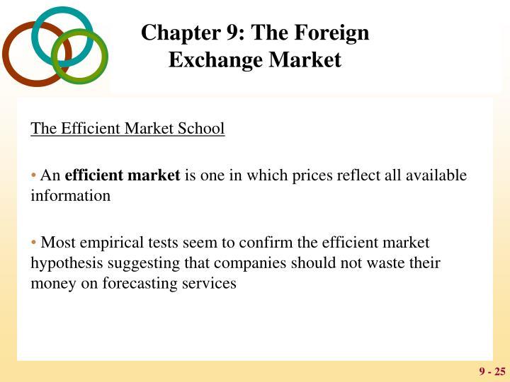 The Efficient Market School