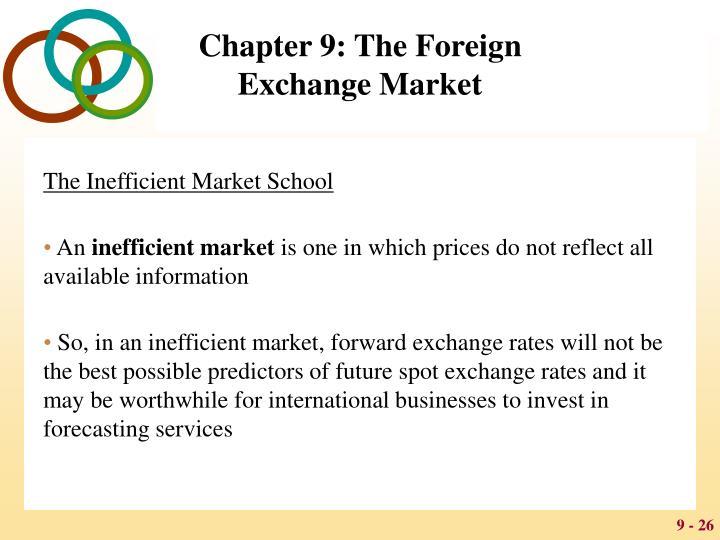 The Inefficient Market School