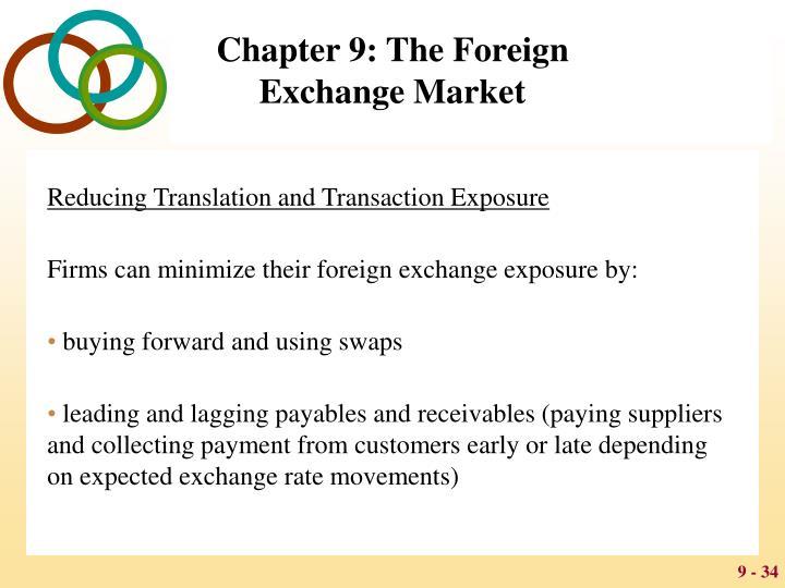 Reducing Translation and Transaction Exposure