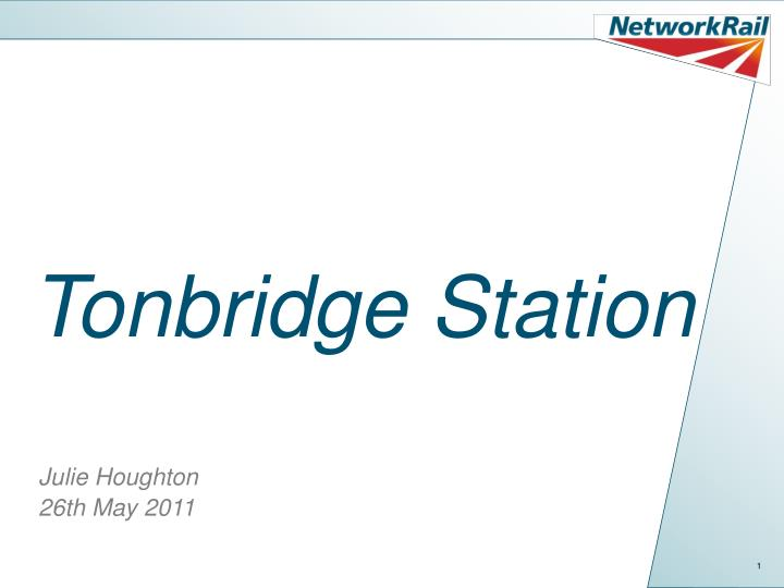 Tonbridge Station