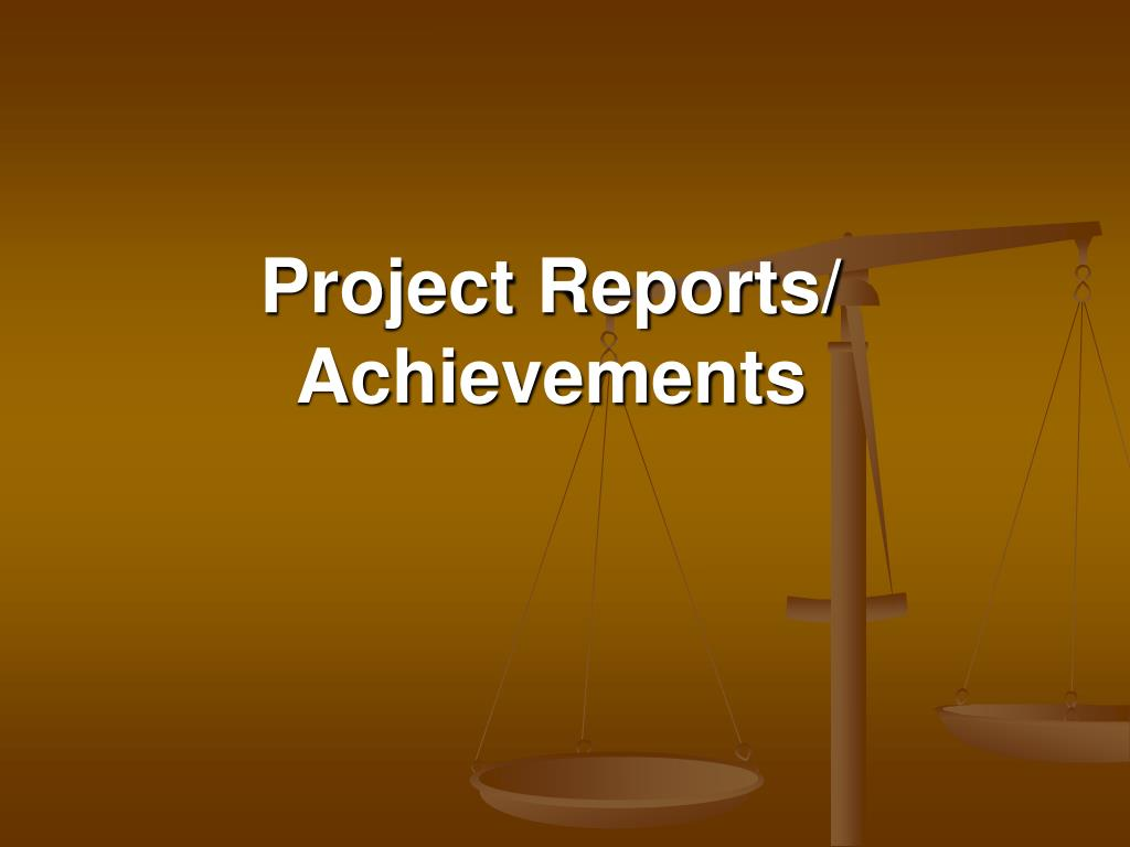 Project Reports/