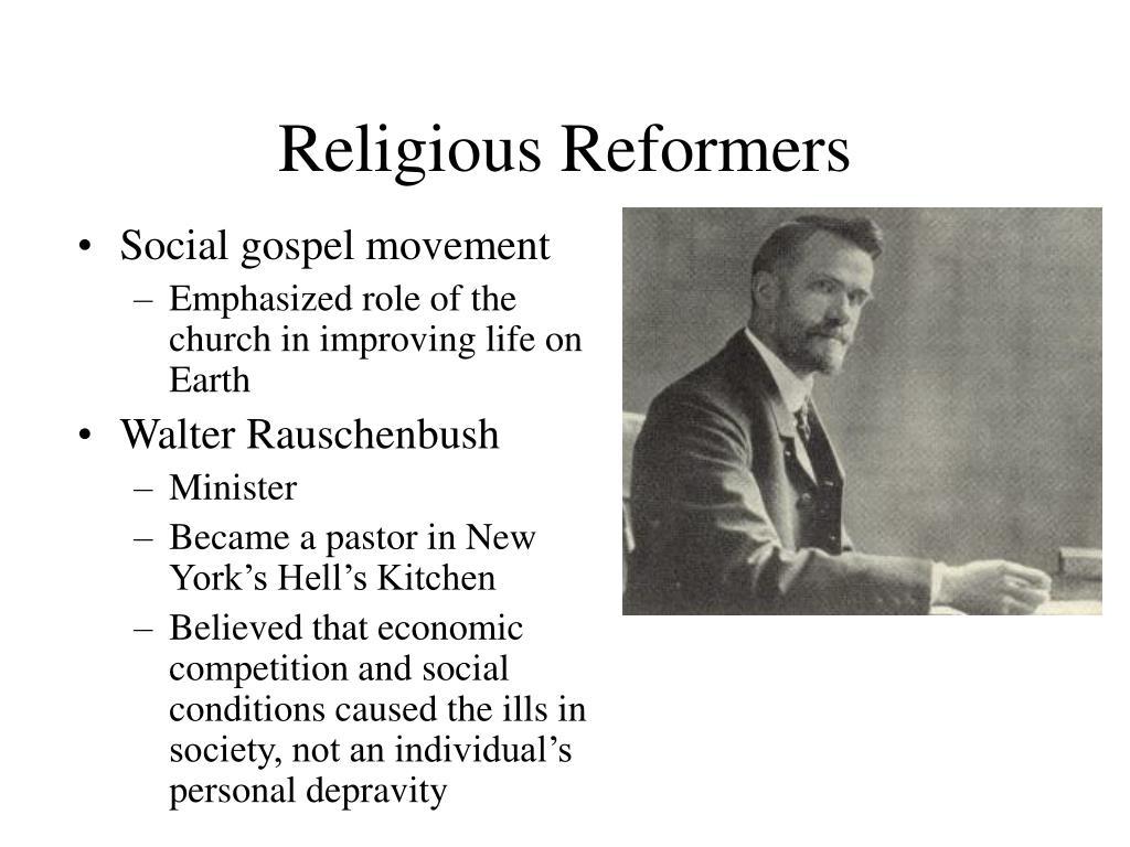 Religious Reformers