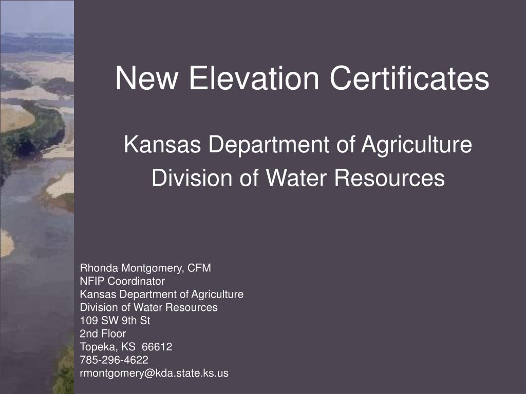 New Elevation Certificates