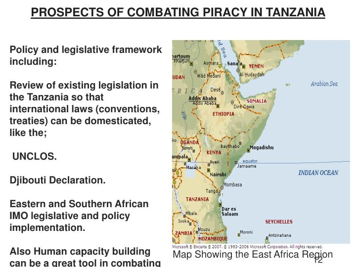 PROSPECTS OF COMBATING PIRACY IN TANZANIA