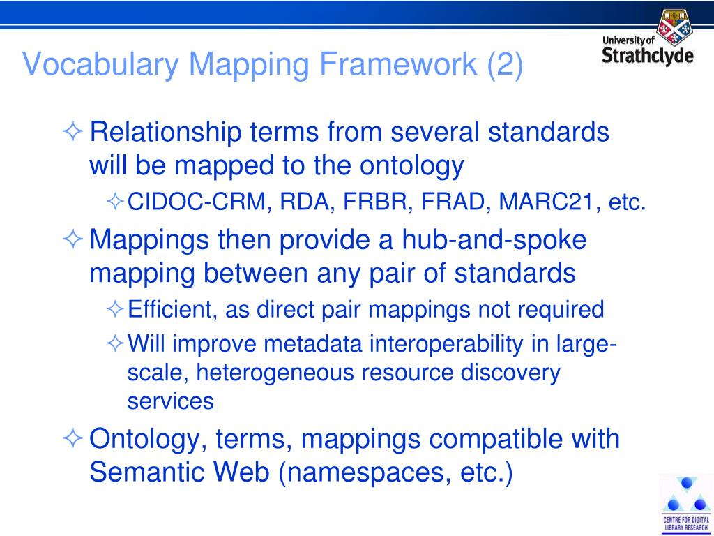 Vocabulary Mapping Framework (2)