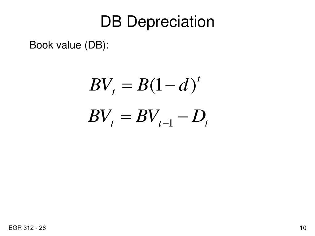 DB Depreciation