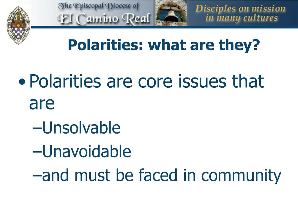 Polarities: what are they?