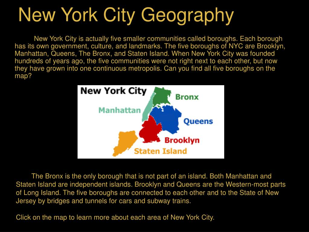 New York City Geography