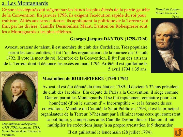 a. Les Montagnards