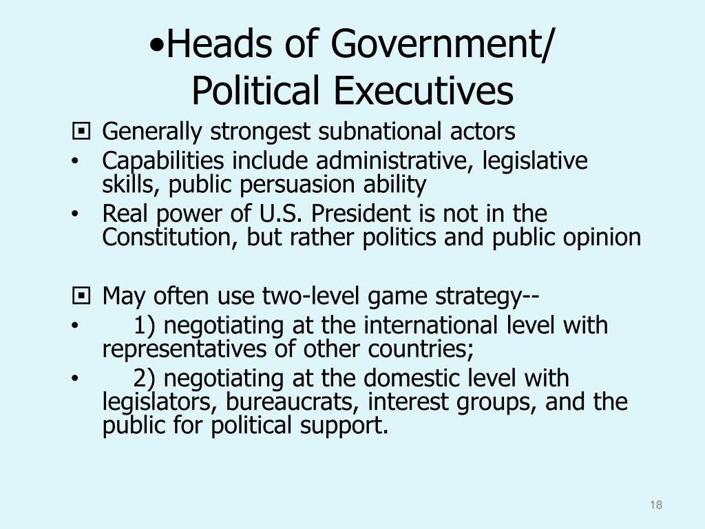 Heads of Government/