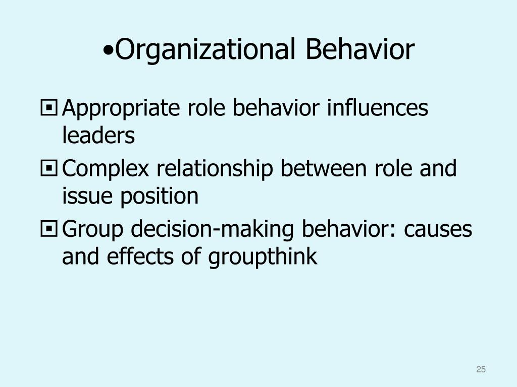 hnc organisations and behaviour