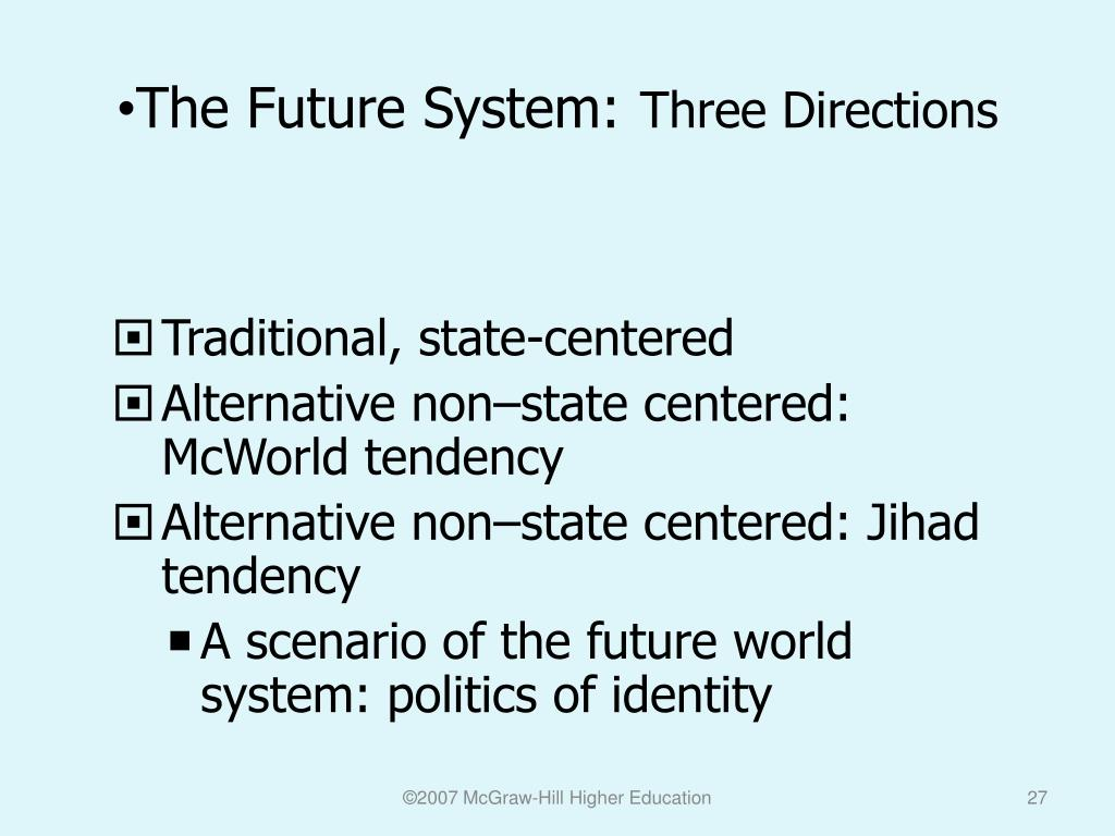 The Future System: