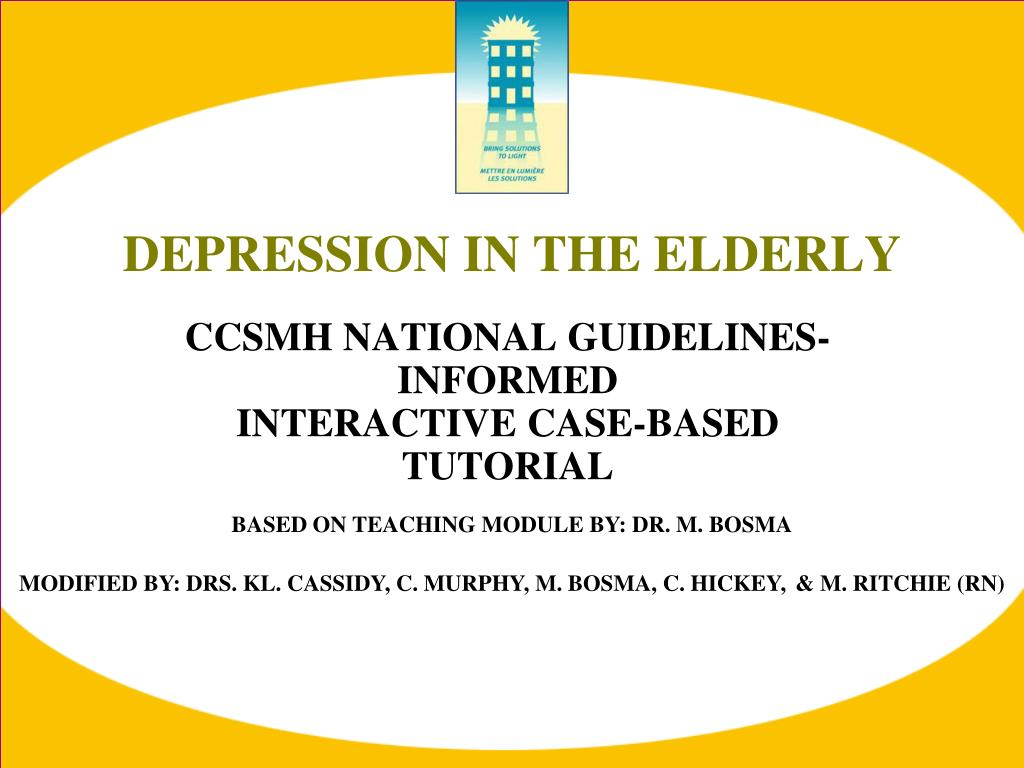 diagnosis and treatment of depression in the elderly Several barriers to proper diagnosis and treatment of depression in elderly patients have been identified these include misattribution of symptoms to 'normal' aging.
