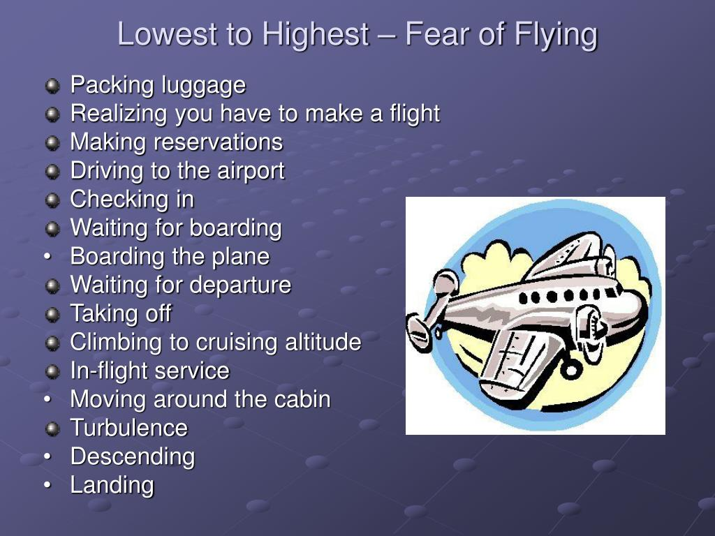 Lowest to Highest – Fear of Flying