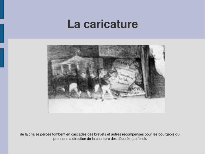 La caricature
