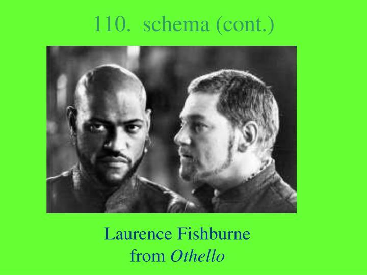 110.  schema (cont.)