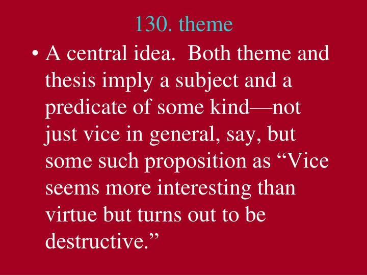130. theme
