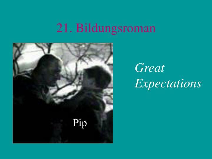 21. Bildungsroman