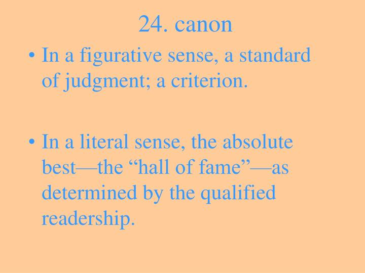 24. canon