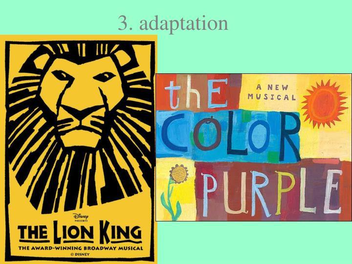 3. adaptation