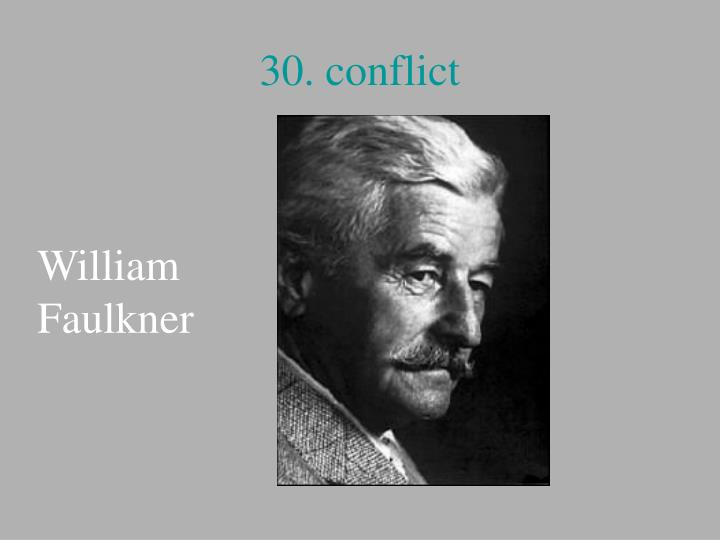 30. conflict