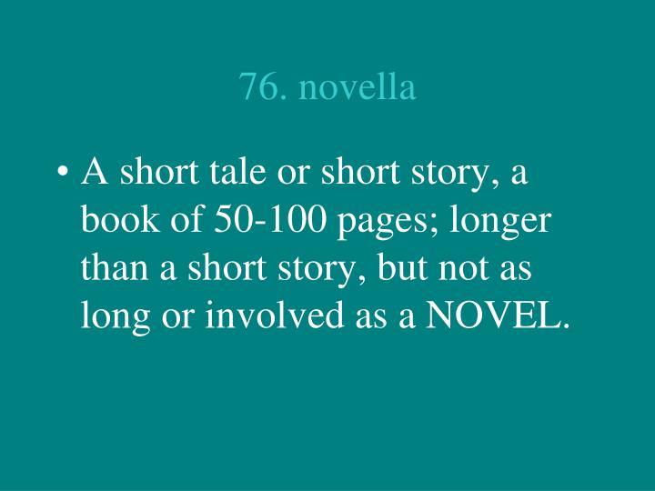 76. novella