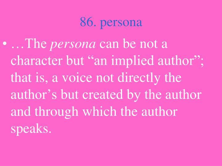 86. persona