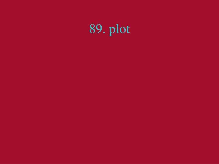89. plot