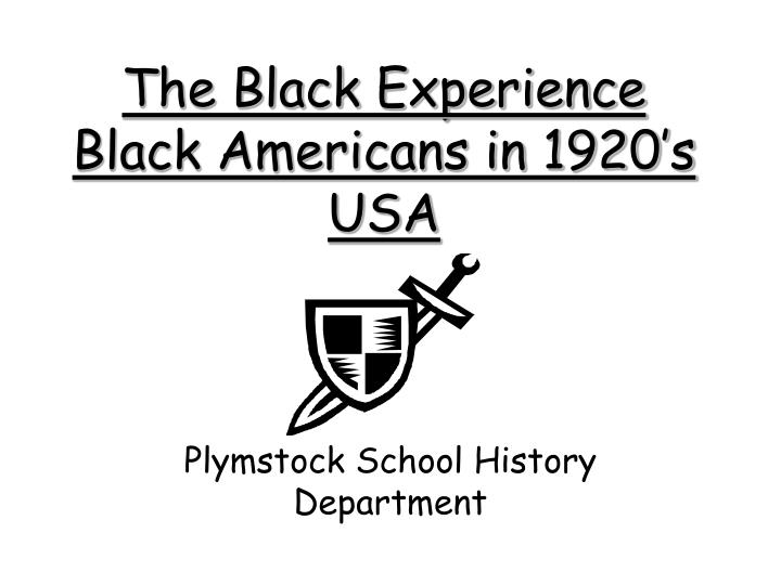 The black experience black americans in 1920 s usa l.jpg