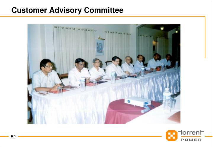 Customer Advisory Committee