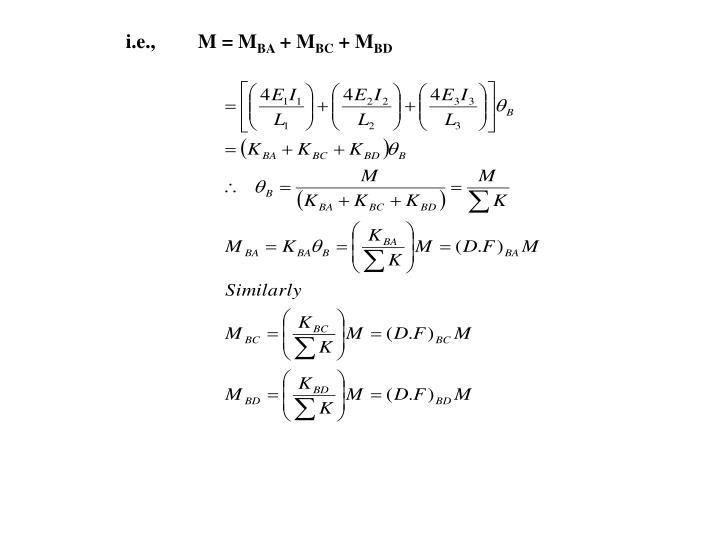i.e.,M = M