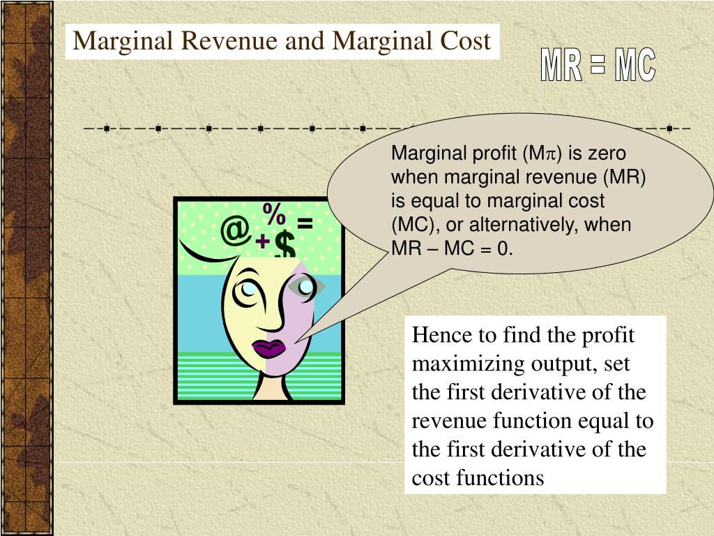marginal cost and revenue marginal revenue This article explains the relationship between the marginal revenue curve and the demand curve and how to calculate them.