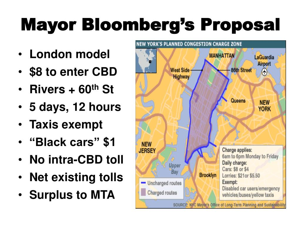Mayor Bloomberg's Proposal
