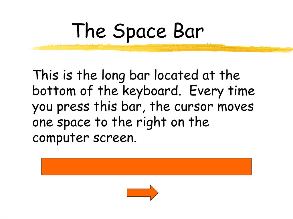 The Space Bar