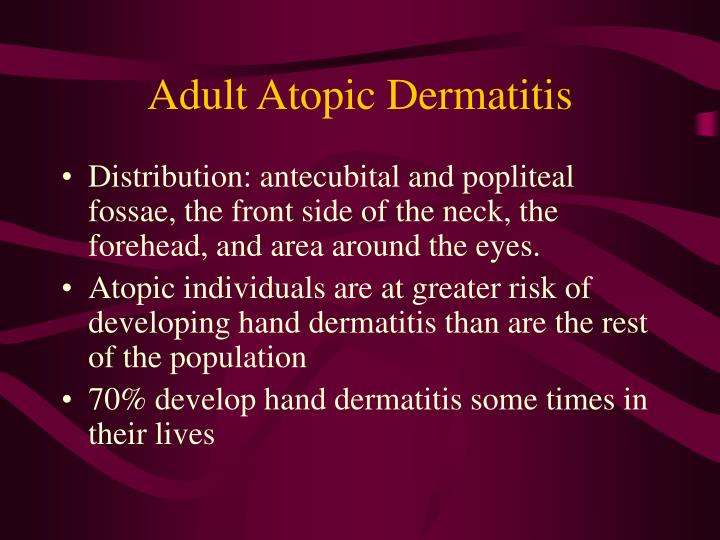 Adult Atopic Dermatitis