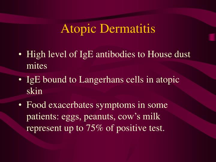 Atopic dermatitis1
