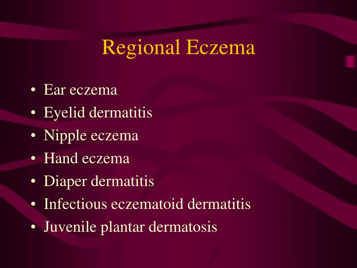 Regional Eczema