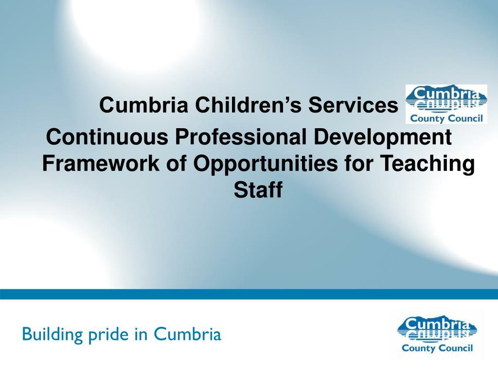 Cumbria Children's Services