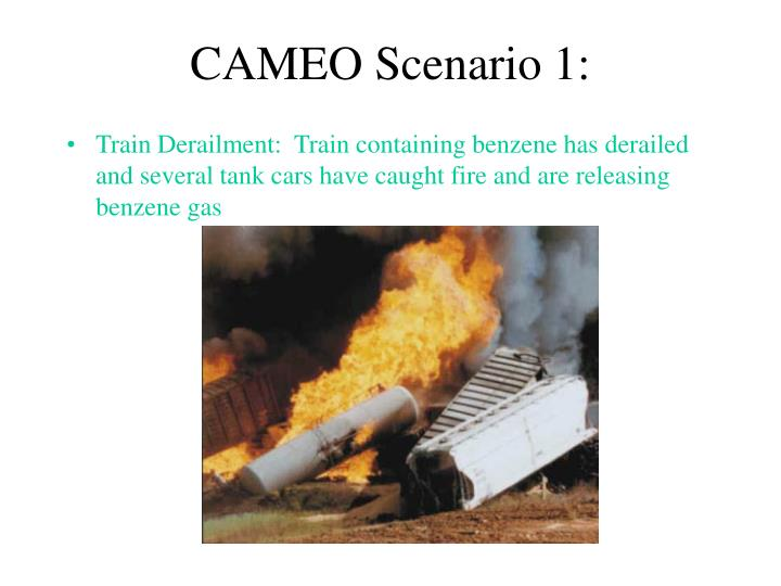 CAMEO Scenario 1: