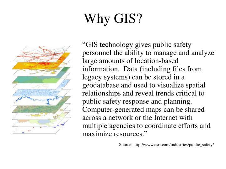 Why GIS?