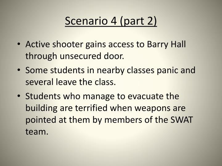 Scenario 4 (part 2)
