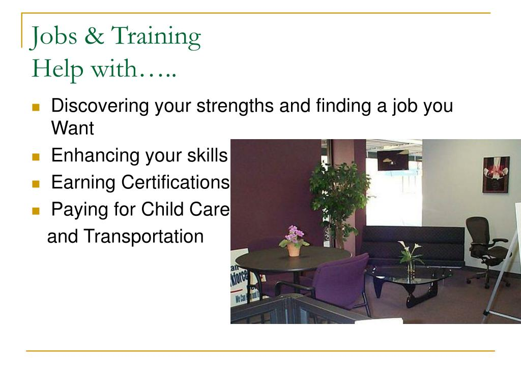 Jobs & Training