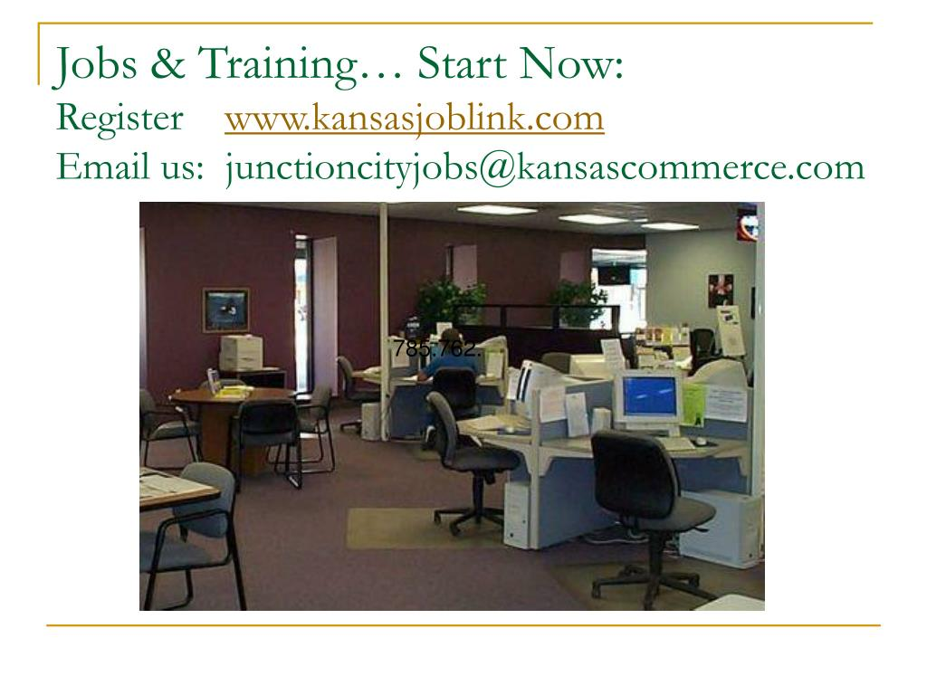 Jobs & Training… Start Now: