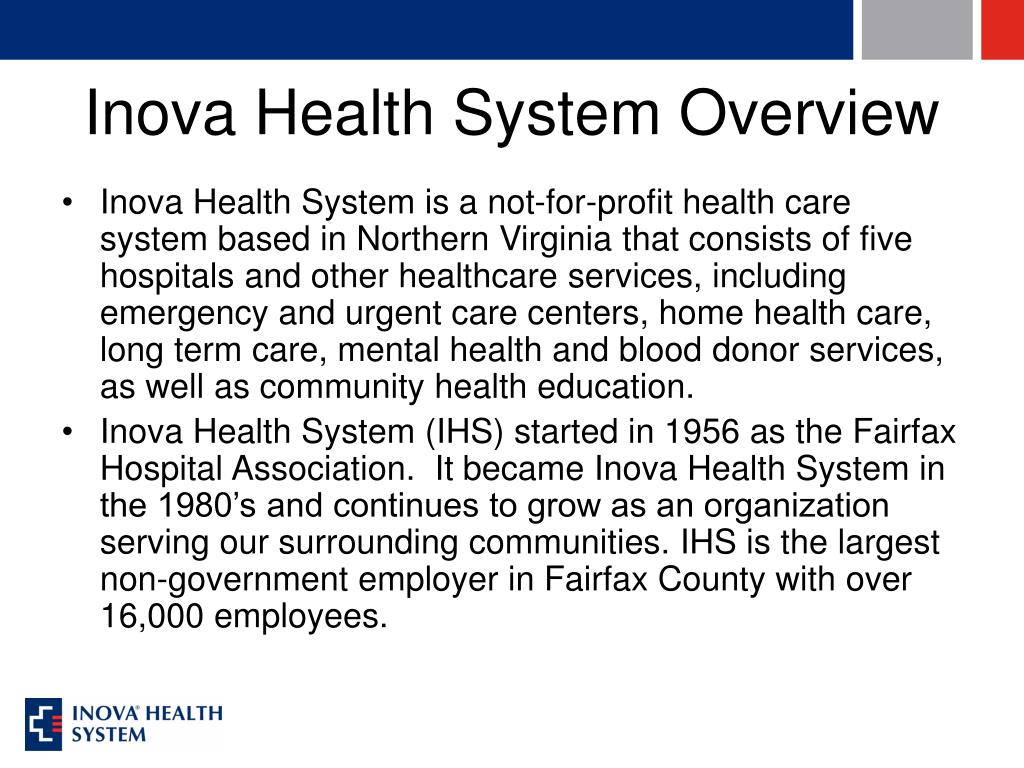 Inova Health System Overview