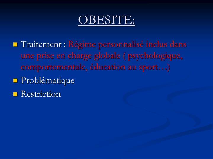 OBESITE: