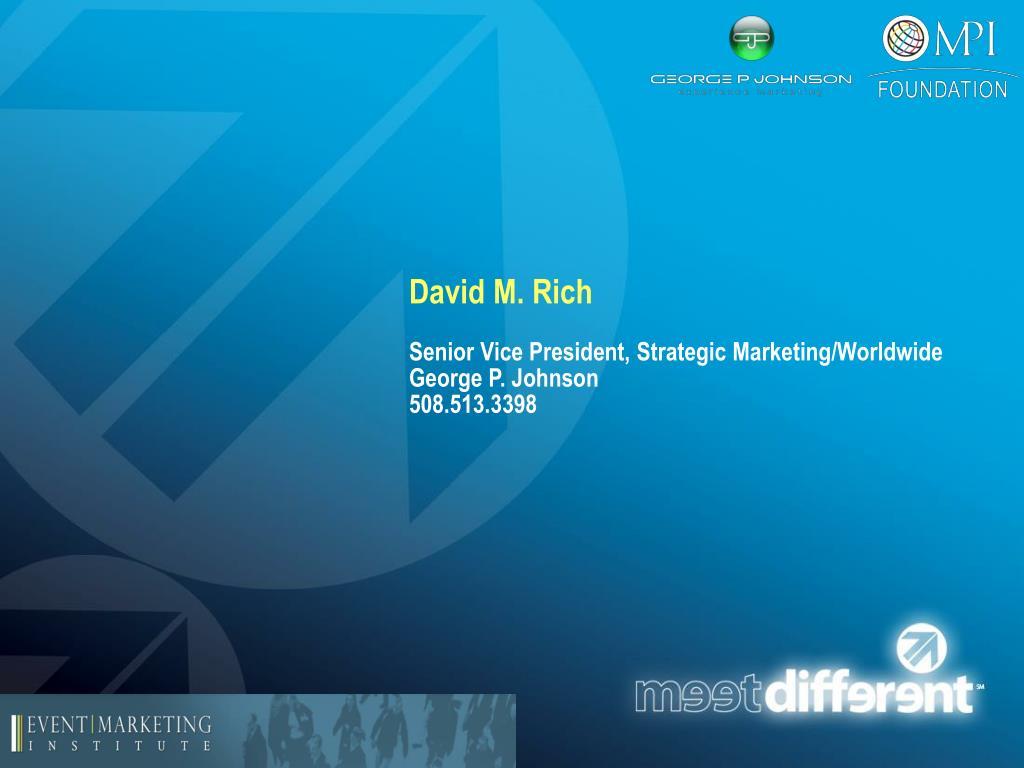 David M. Rich