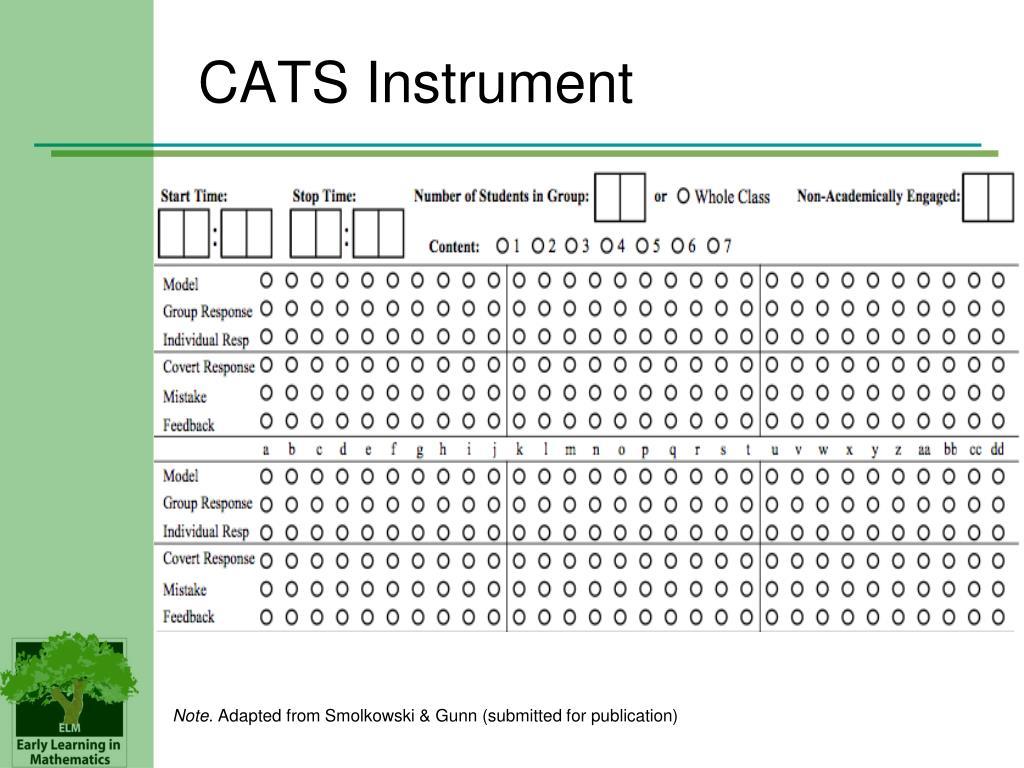 CATS Instrument