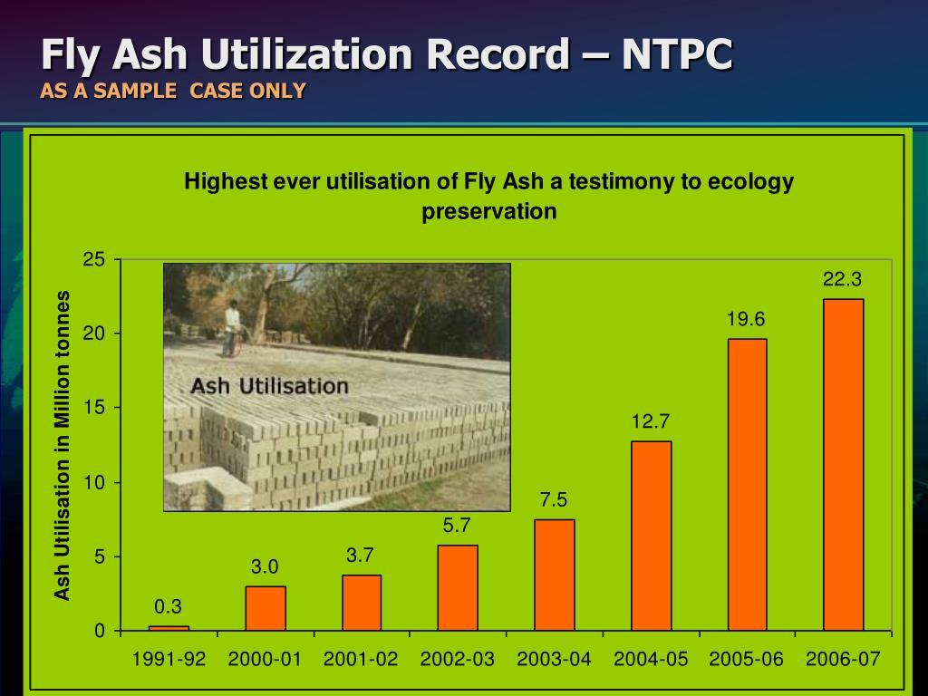 Fly Ash Utilization Record – NTPC