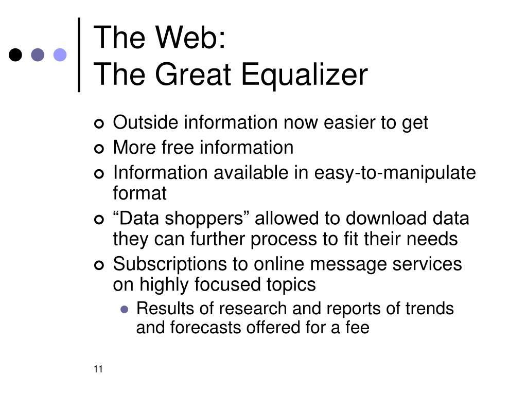 The Web:
